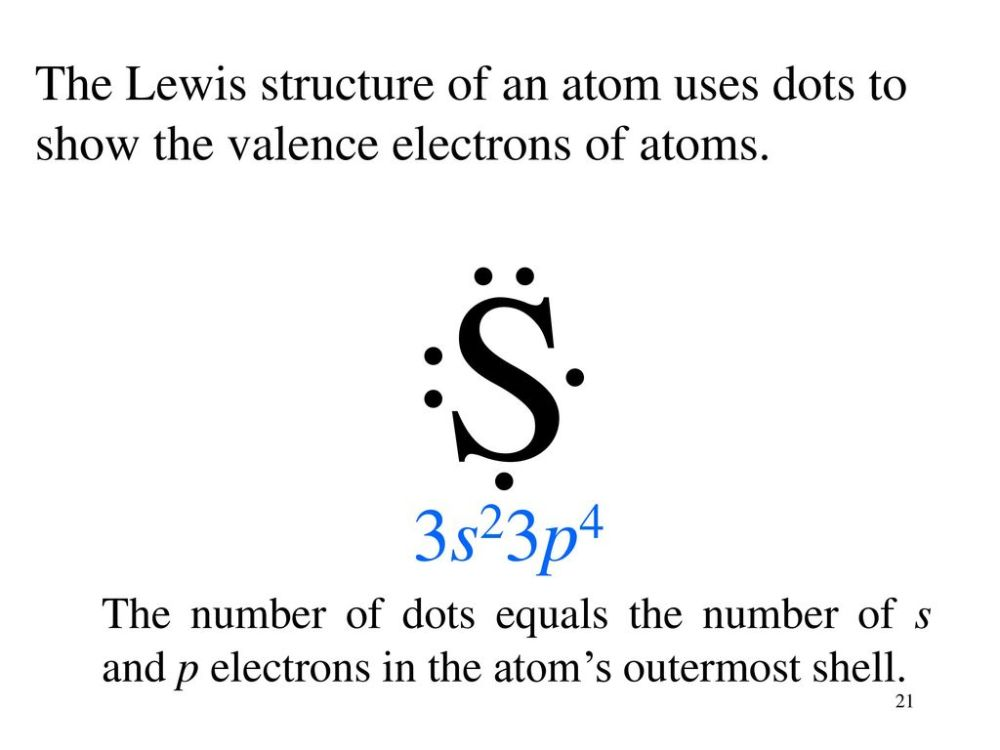 medium resolution of the lewis structure of an atom uses dots to show the valence electrons of atoms