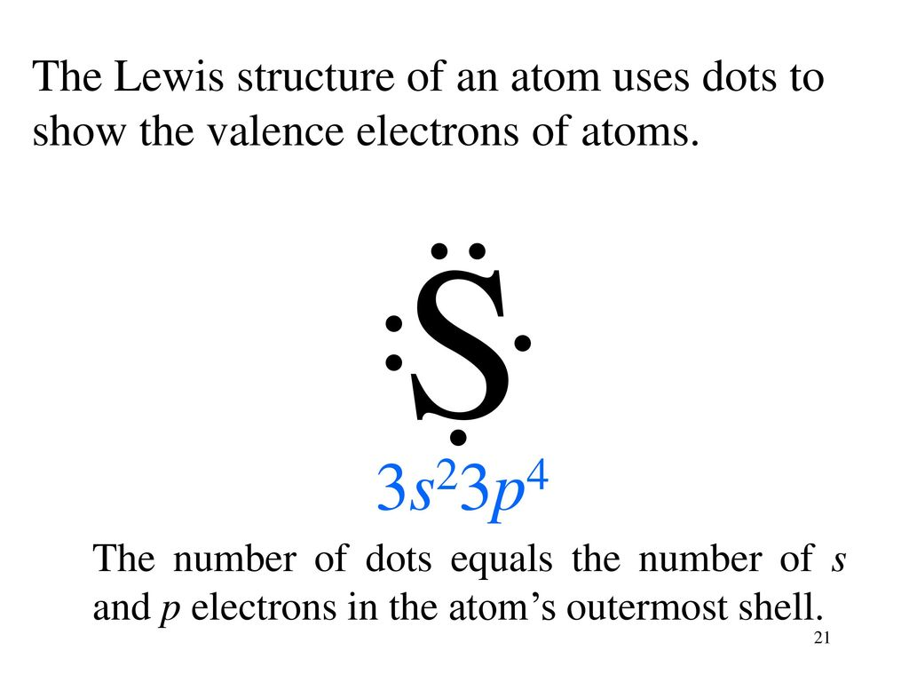 hight resolution of the lewis structure of an atom uses dots to show the valence electrons of atoms