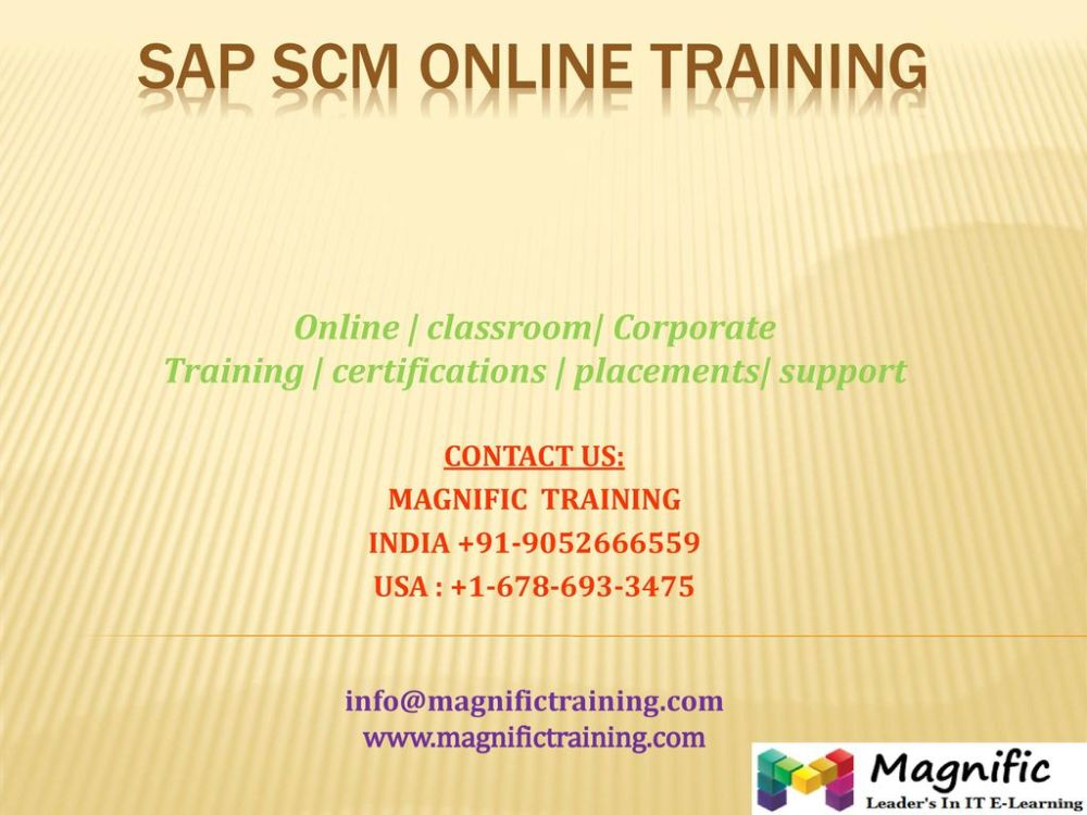 medium resolution of sap scm online training