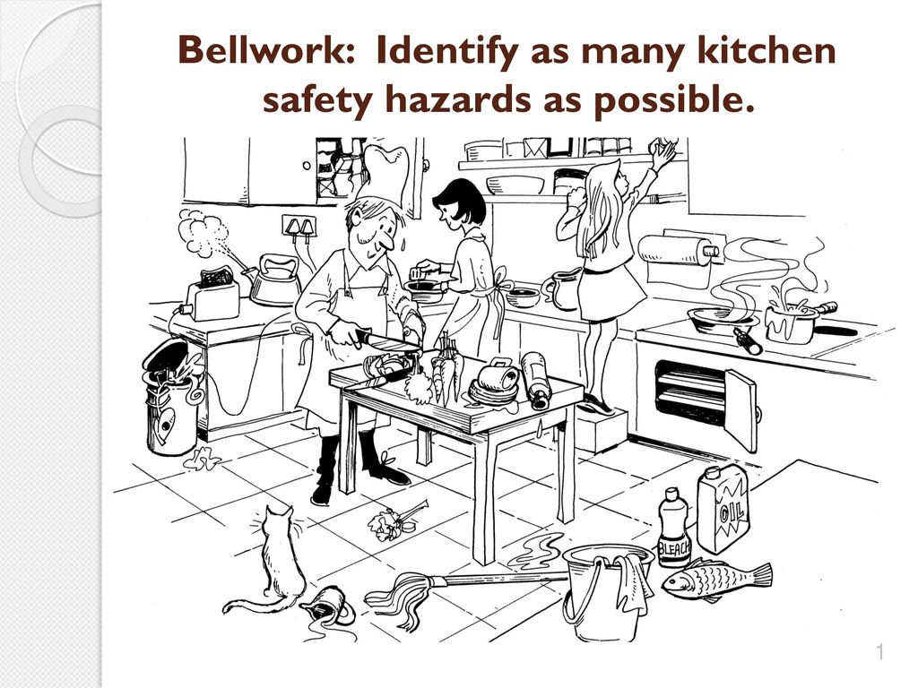 Hazards In Kitchen