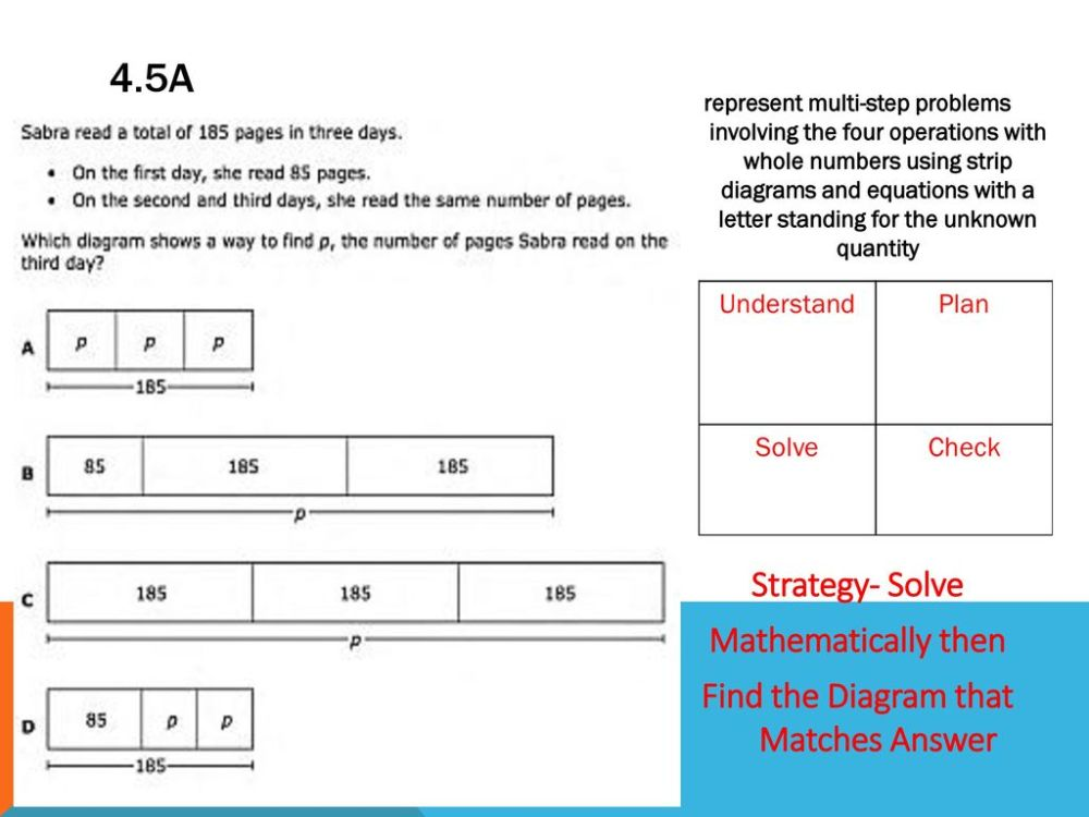 medium resolution of find the diagram that matches answer