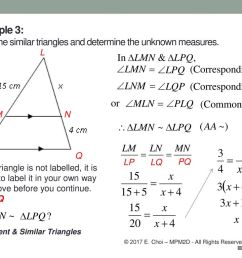 Grade 10 Academic (MPM2D) Unit 5: Trigonometry Congruent \u0026 Similar triangles  Mr. Choi © 2017 E. Choi – MPM2D - All Rights Reserved. - ppt download [ 768 x 1024 Pixel ]