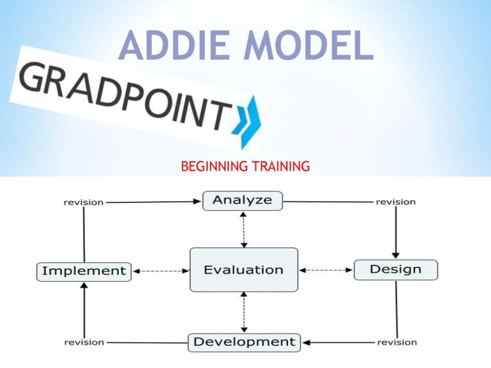 medium resolution of 2 addie model beginning training