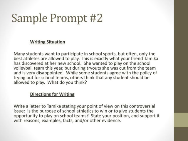 Persuasive Writing Prompts - ppt download