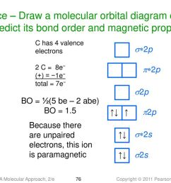 practice draw a molecular orbital diagram of c2 and predict its bond order and magnetic [ 1024 x 768 Pixel ]