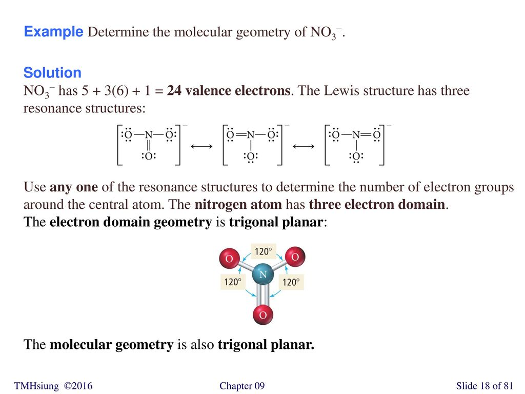 hight resolution of example determine the molecular geometry of no3