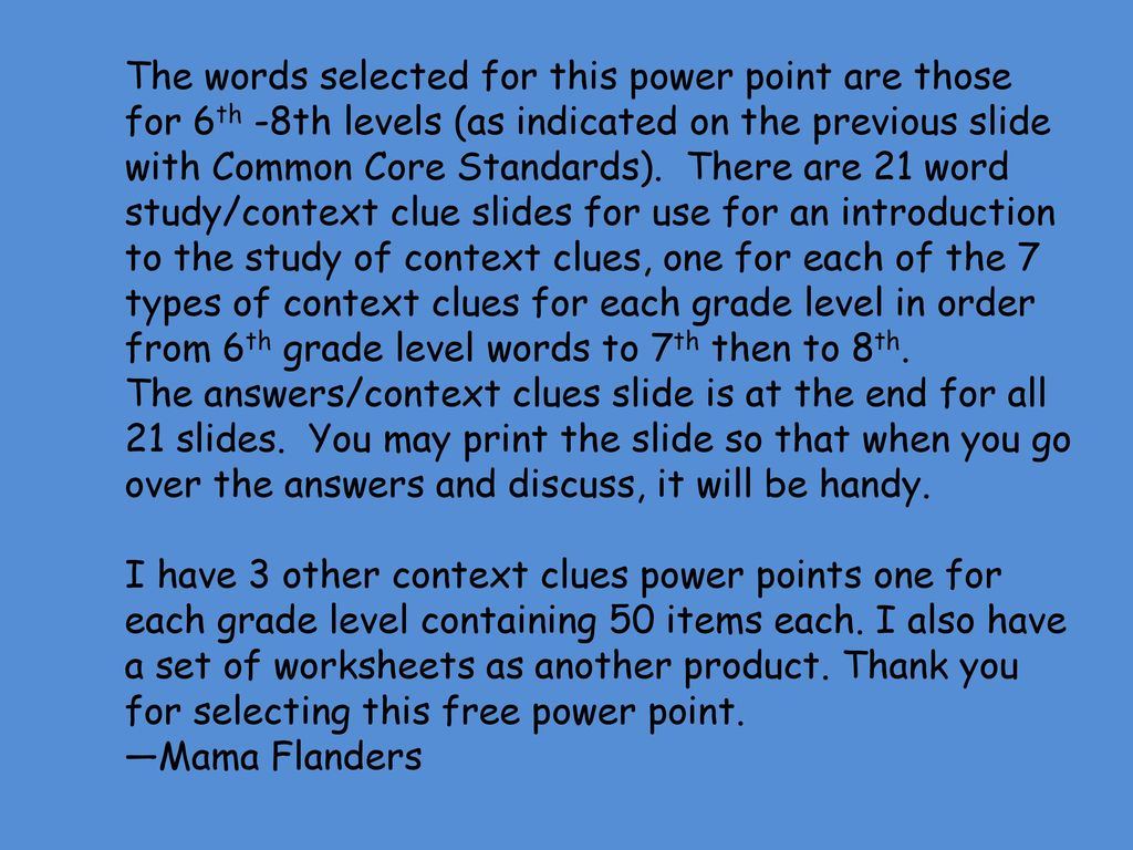 hight resolution of PRACTICE WITH CONTEXT CLUES! - ppt download