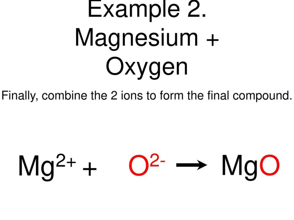 medium resolution of magnesium oxygen