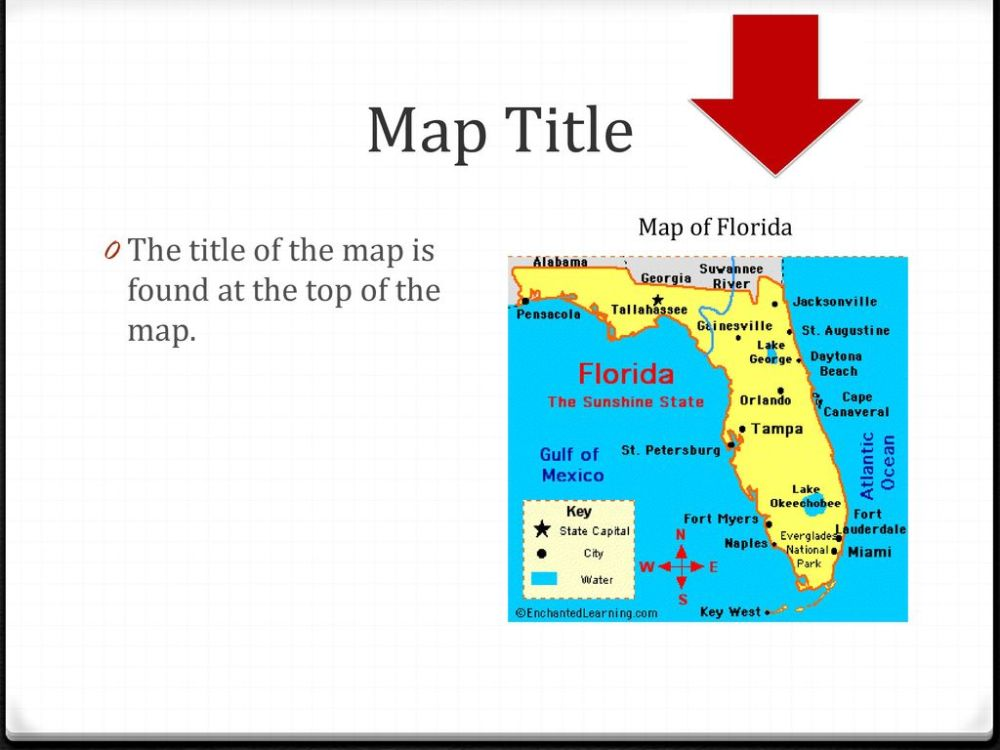 medium resolution of Map Features 4th Grade. - ppt download