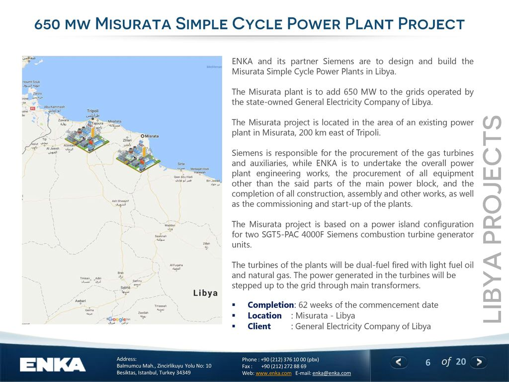 simple cycle power plant diagram 2004 pontiac grand am stereo wiring enka in libya ppt download projects 650 mw misurata project