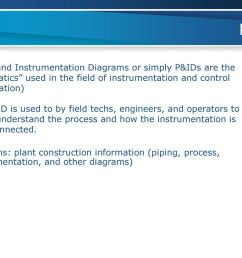 p id piping and instrumentation diagrams or simply p ids are the schematics used in the  [ 1024 x 768 Pixel ]