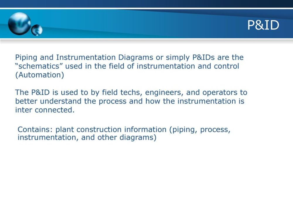 medium resolution of p id piping and instrumentation diagrams or simply p ids are the schematics used in the