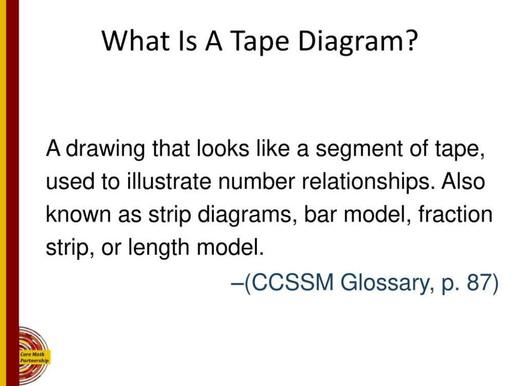 medium resolution of how does a tape diagram look trusted wiring diagram measuring tape diagram core mathematics partnership ppt