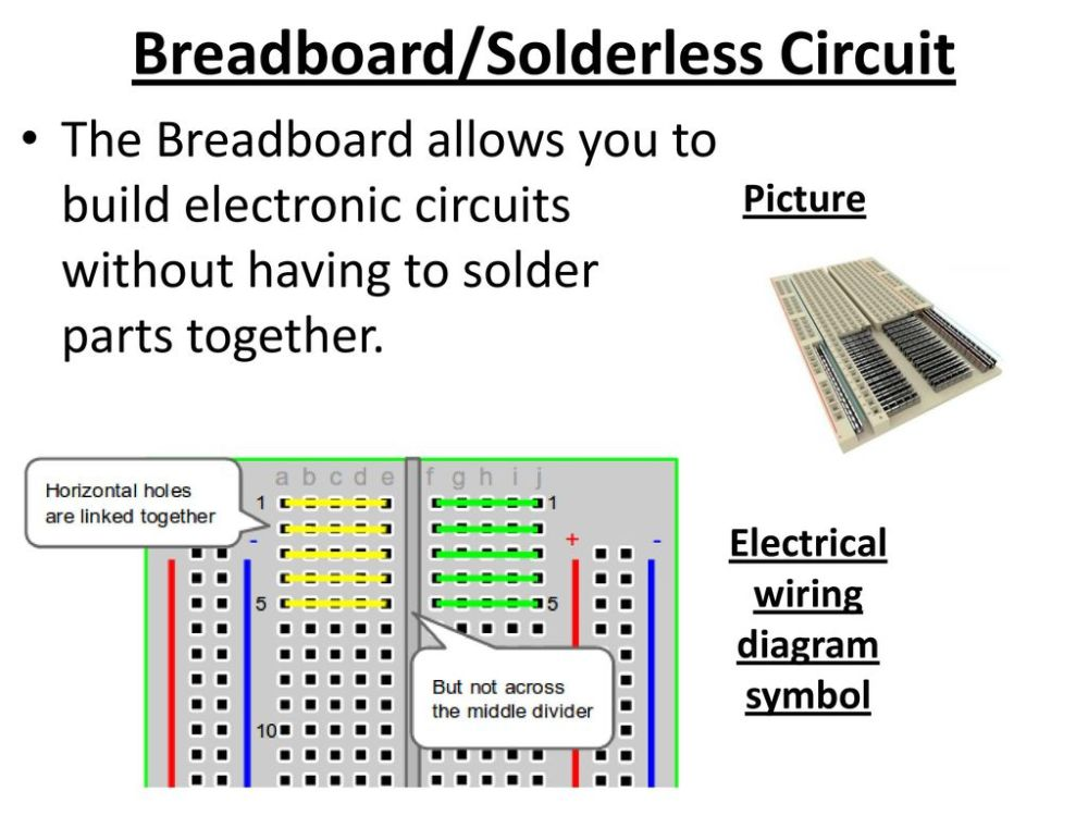 medium resolution of breadboard solderless circuit