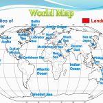 World Map Bodies Of Water Landmasses Ppt Download