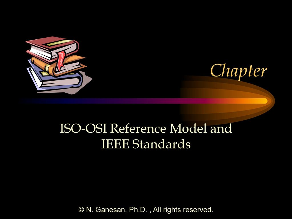 hight resolution of iso osi reference model and ieee standards