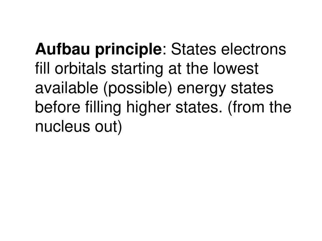 hight resolution of 3 aufbau principle