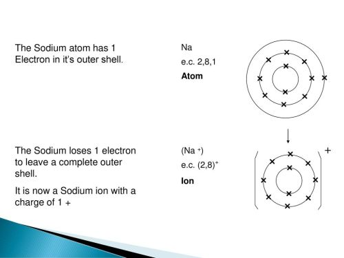 small resolution of  the sodium atom has 1 electron in it s outer shell
