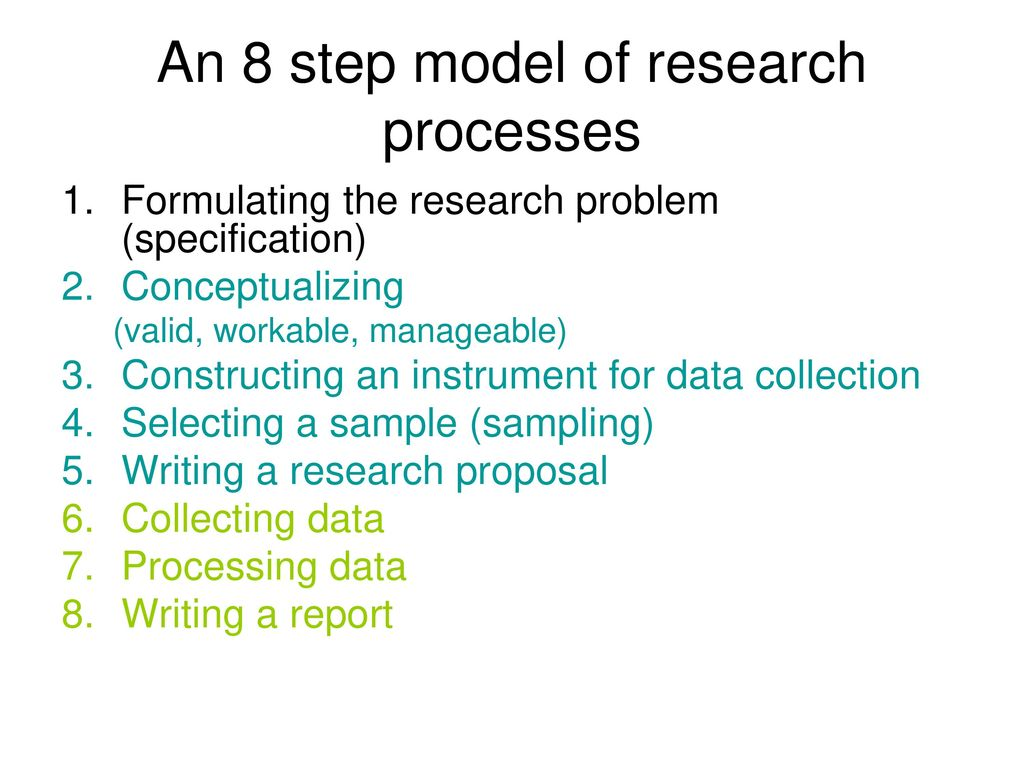 Formulating A Research Proposal How To Write A Research