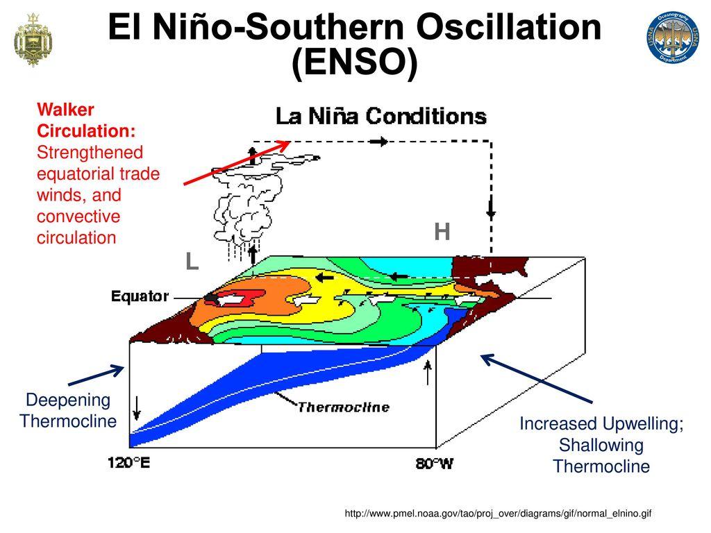hight resolution of el ni o southern oscillation enso