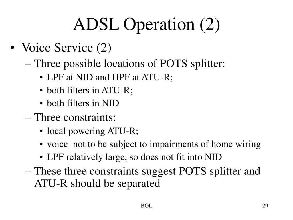 hight resolution of 29 adsl operation