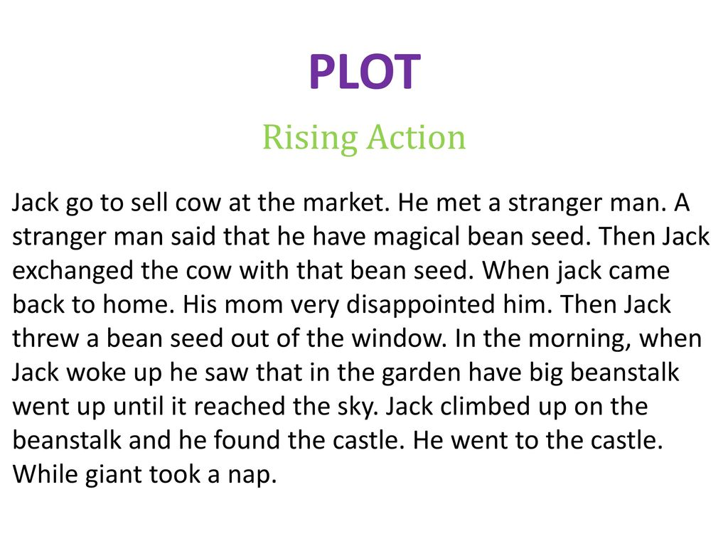 jack and the beanstalk plot diagram ford transit connect wiring short story research project ppt download 3