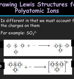 drawing lewis structures for polyatomic ions [ 1024 x 768 Pixel ]