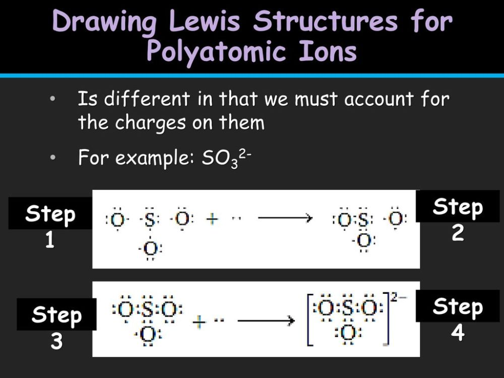 medium resolution of drawing lewis structures for polyatomic ions