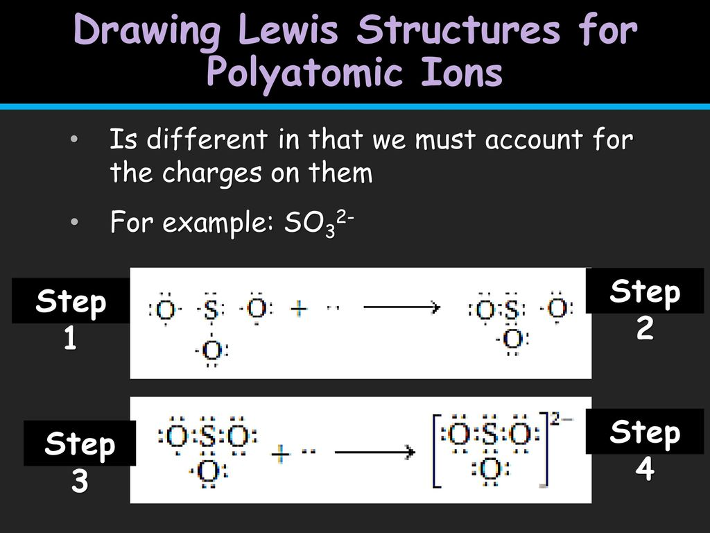 hight resolution of drawing lewis structures for polyatomic ions