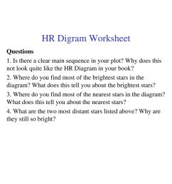 clear hr diagram wiring diagram technic assignment 6 due oct 20 put the stars on the [ 1024 x 1365 Pixel ]