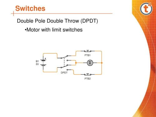 small resolution of 12 switches double pole double throw dpdt motor with limit switches