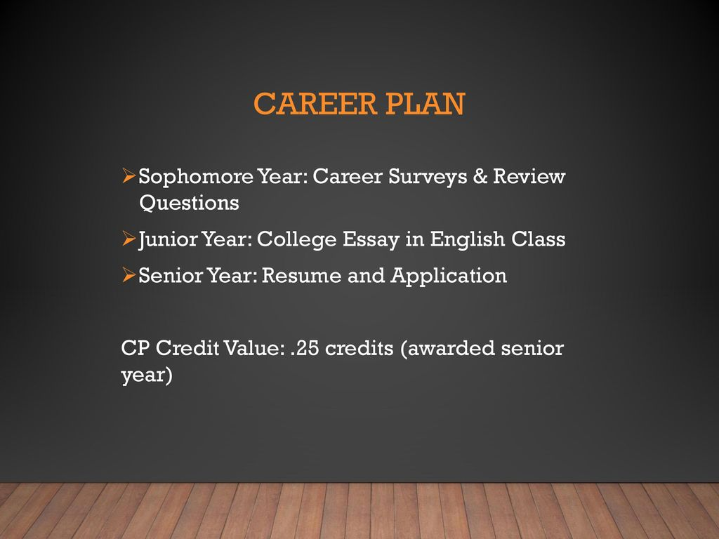 College Sophomore Resume Sophomore Information Night Ppt Download
