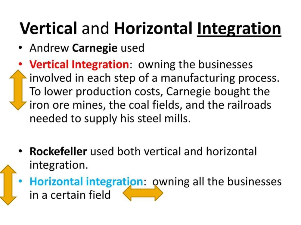 medium resolution of 9 vertical and horizontal integration