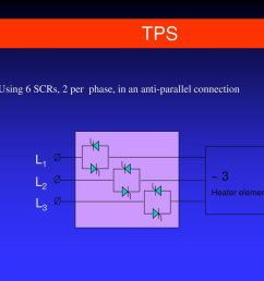 10 tps using 6 scrs 2 per phase in an anti parallel connection l1 3 heater  [ 1024 x 768 Pixel ]