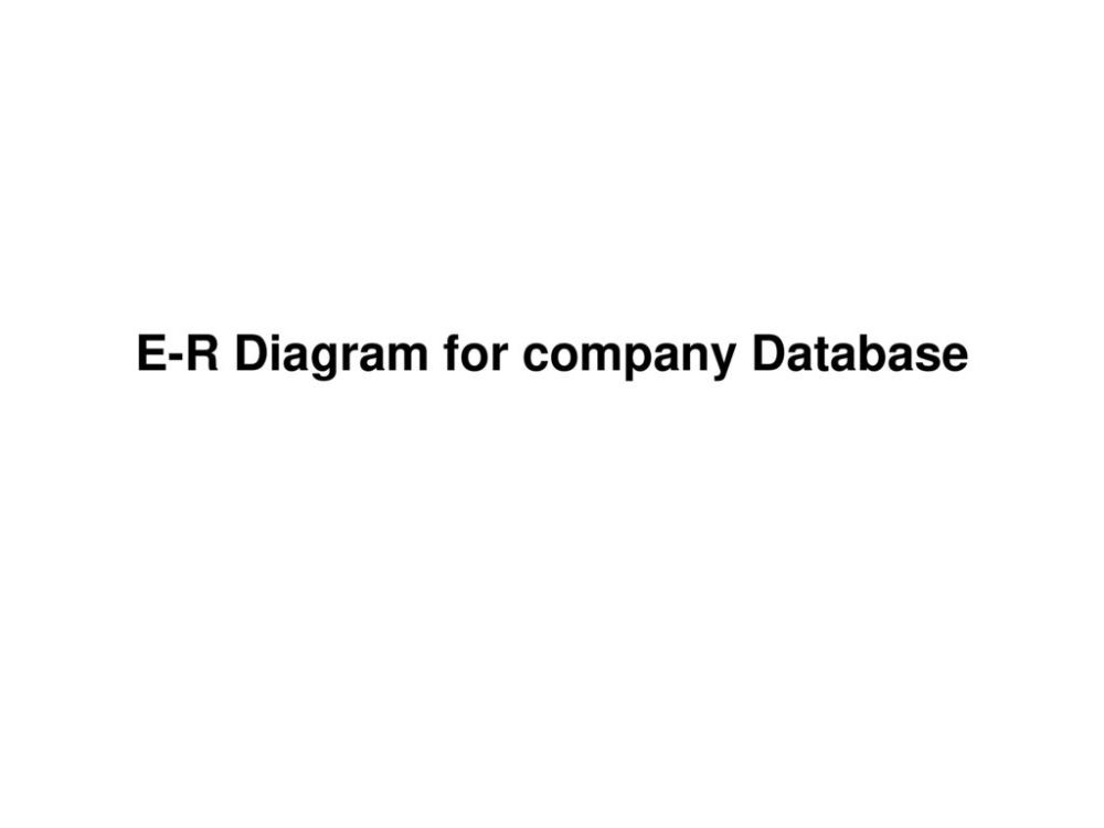 medium resolution of 20 e r diagram for company database