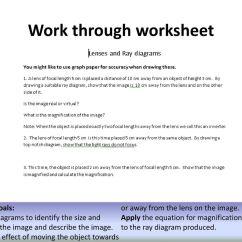 Light Ray Diagram Worksheets Xtrons Wiring Peer Mark The Homework Ppt Download Work Through Worksheet