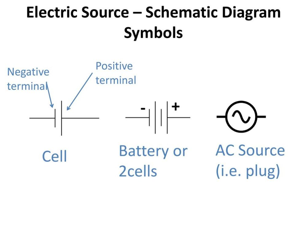 medium resolution of electric source schematic diagram symbols