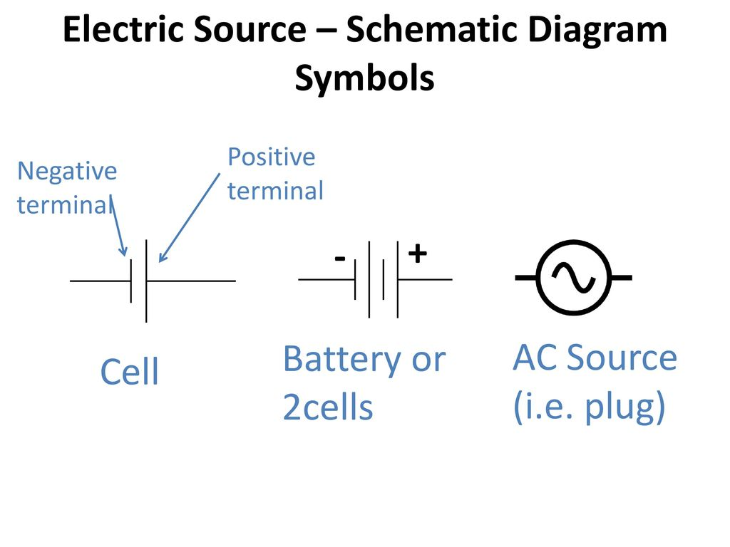 hight resolution of electric source schematic diagram symbols