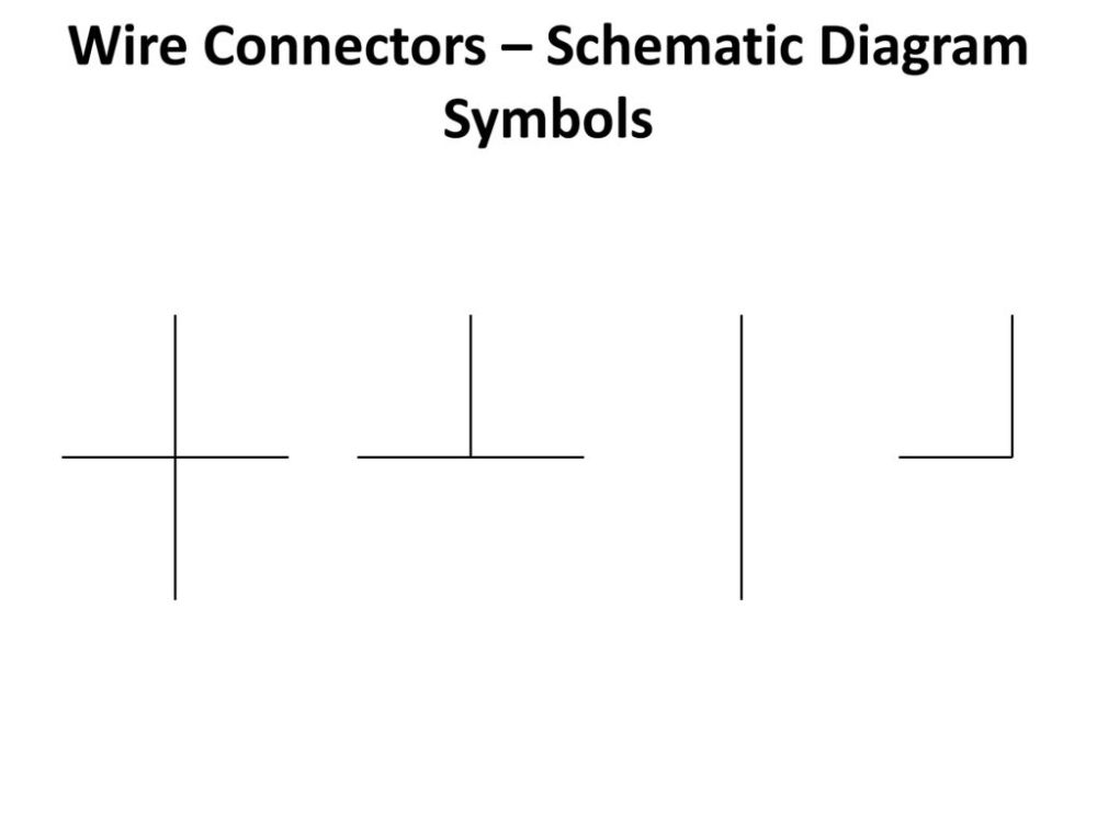 medium resolution of 9 wire connectors schematic diagram symbols
