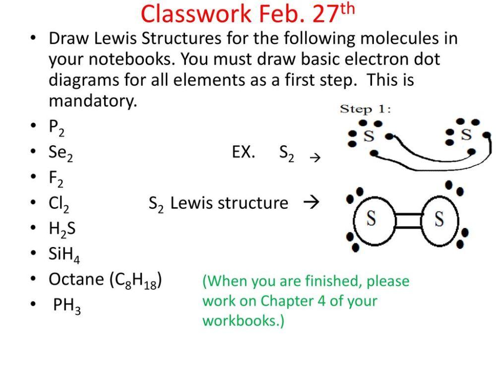 medium resolution of lewis structure practice slides ppt download lewis diagrams s2