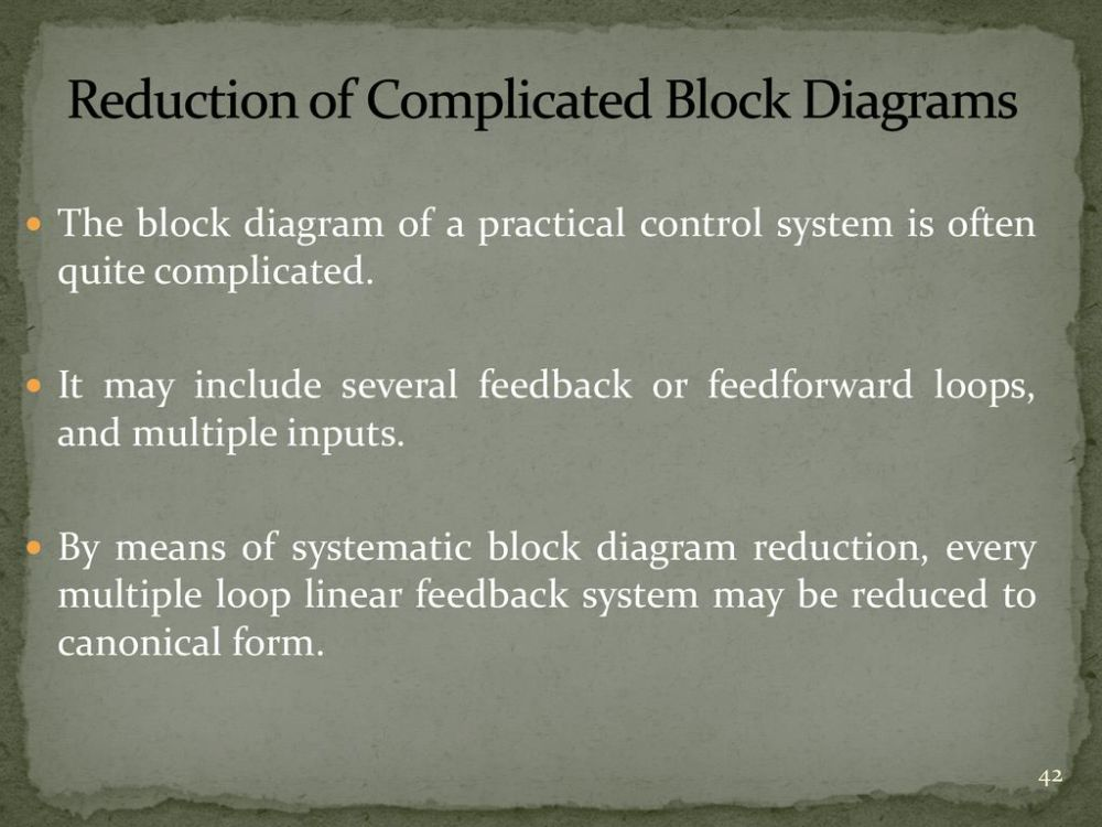 medium resolution of reduction of complicated block diagrams