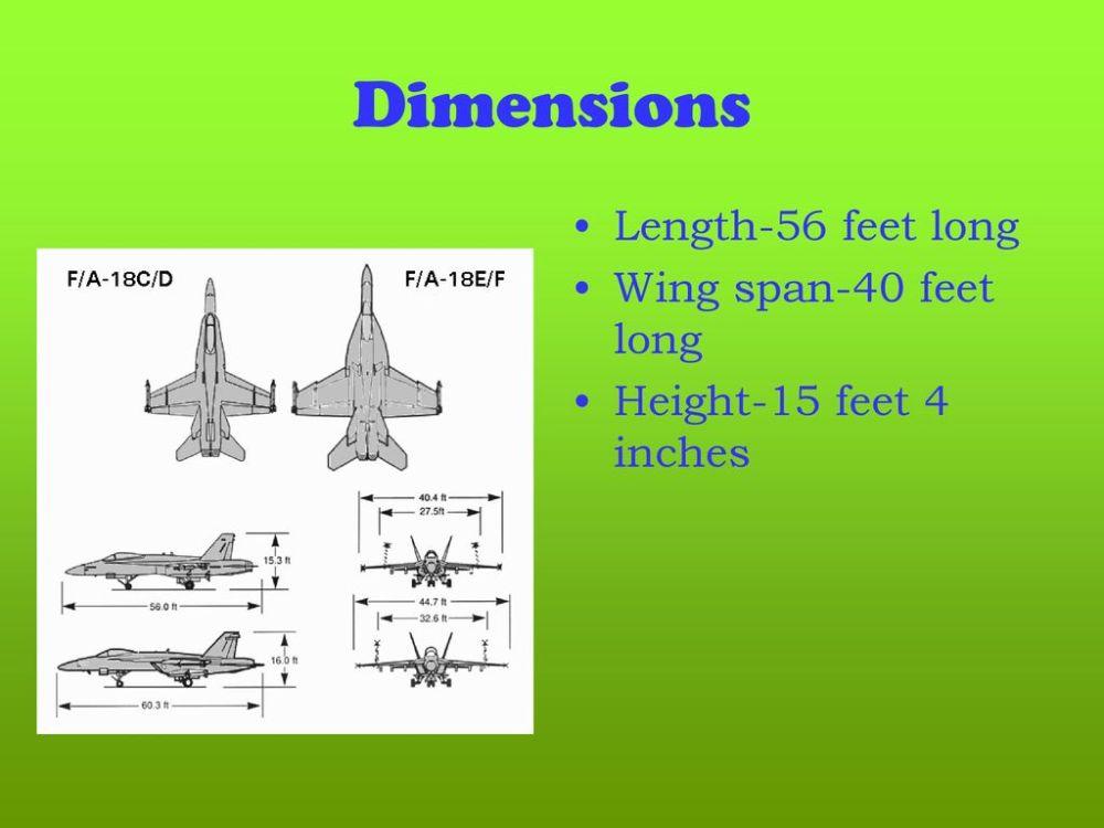medium resolution of  f 18 super hornet 2 dimensions