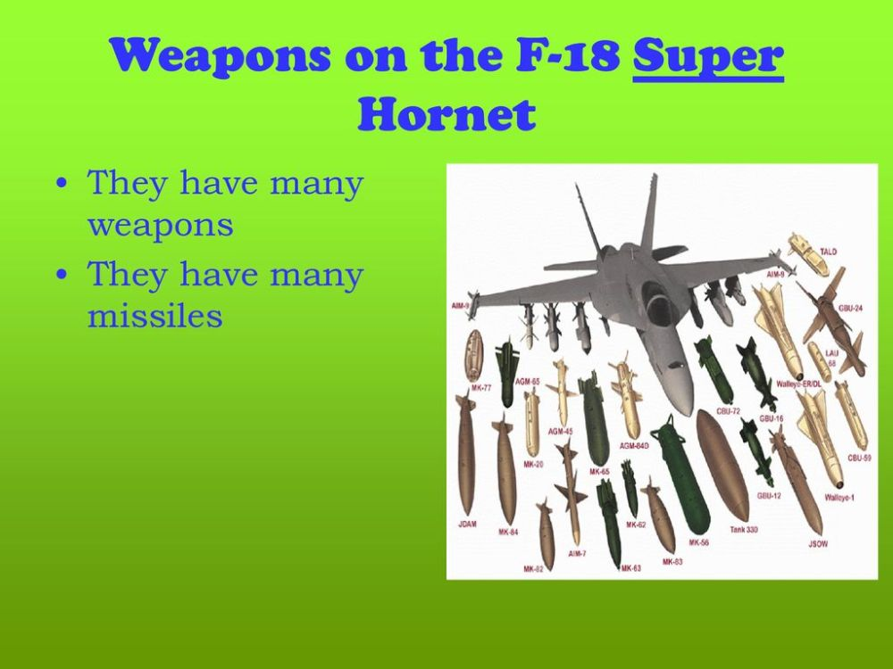 medium resolution of weapons on the f 18 super hornet