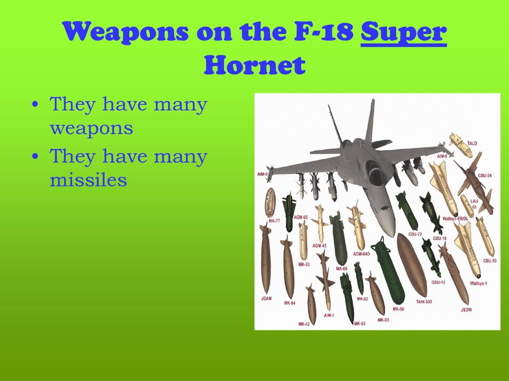 hight resolution of weapons on the f 18 super hornet
