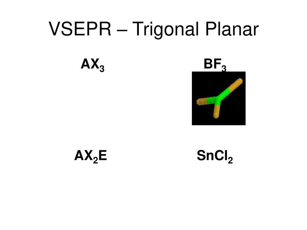 hight resolution of vsepr trigonal planar