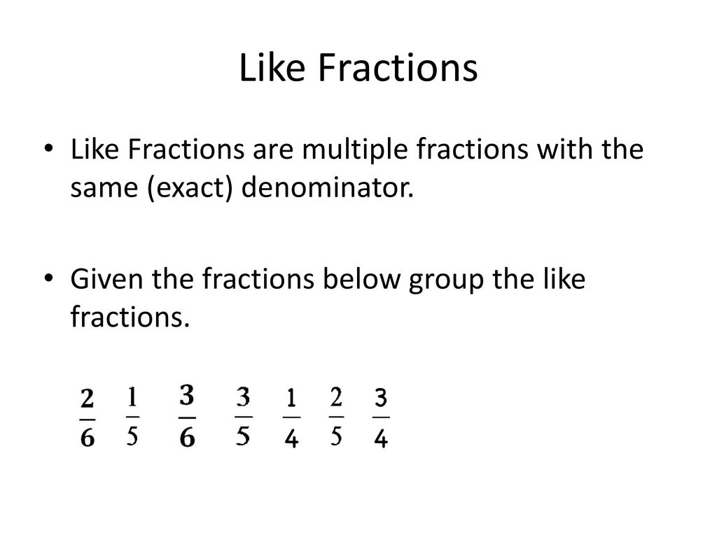 Adding And Subtracting Multiple Fractions