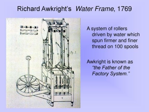 small resolution of richard awkright s water frame 1769