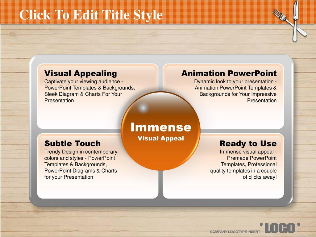 13 Click To Edit Title Style Visual Appealing Captivate Your Viewing  Audience - Powerpoint Templates