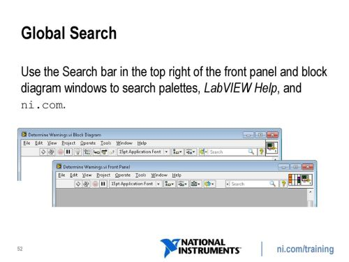 small resolution of global search use the search bar in the top right of the front panel and block