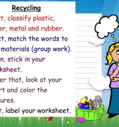 LIFE Theme 2: Garbage and Recycling. - ppt download [ 768 x 1024 Pixel ]